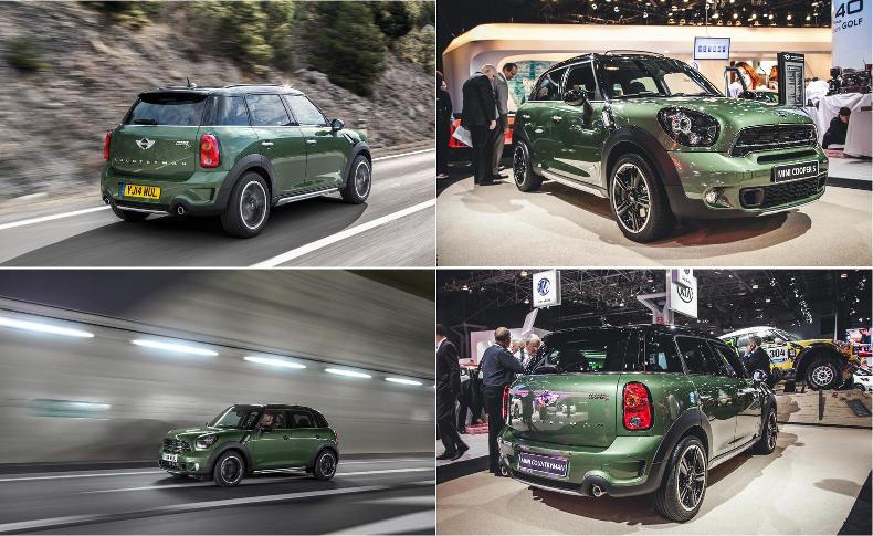 Mini Cooper Countryman 2015, la version VUS de la Mini   Car & Driver