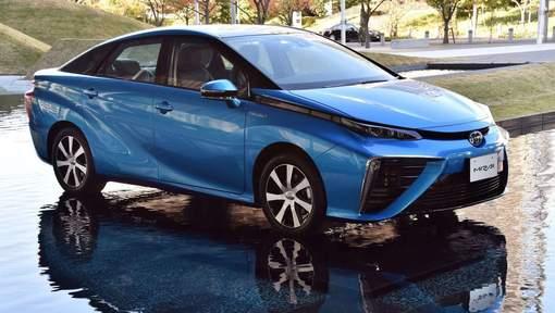 La voiture à pile, Toyota Mirai | AFP