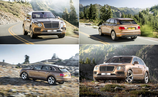 Bentayga © Bentley